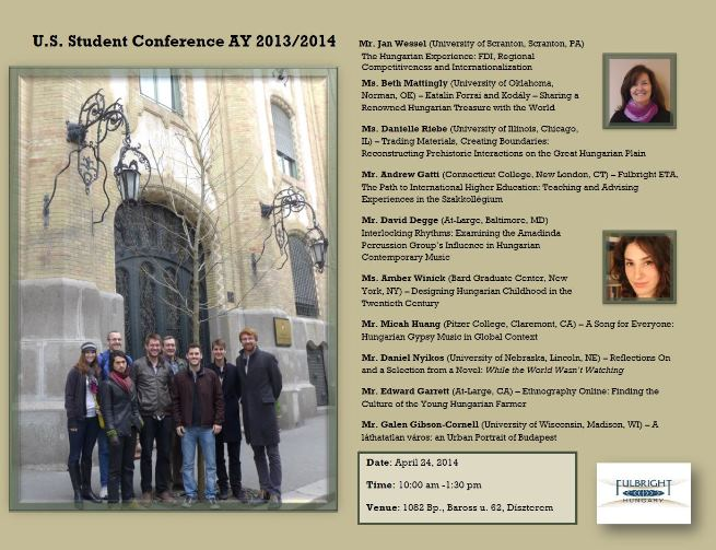 U.S. Student Conference AY 2013-2014