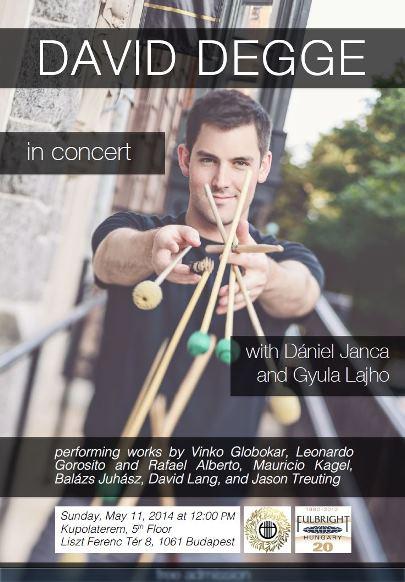 David Degge in Concert