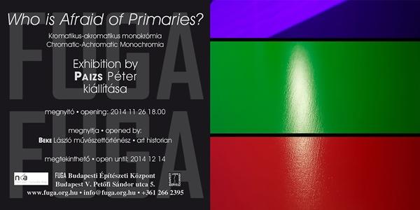 Chromatic-Achromatic Monochromia exhibition