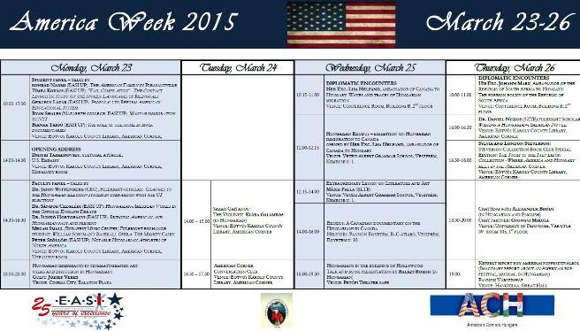 America Week 2015