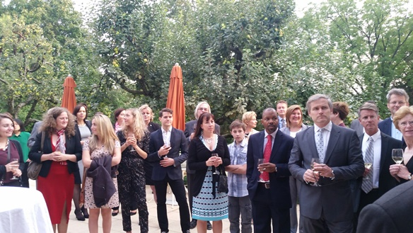United States Deputy Chief of Mission Hosts Fulbright Grantees and Friends