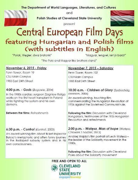 Central European Film Days at CSU