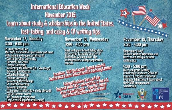 International Education Week 2015