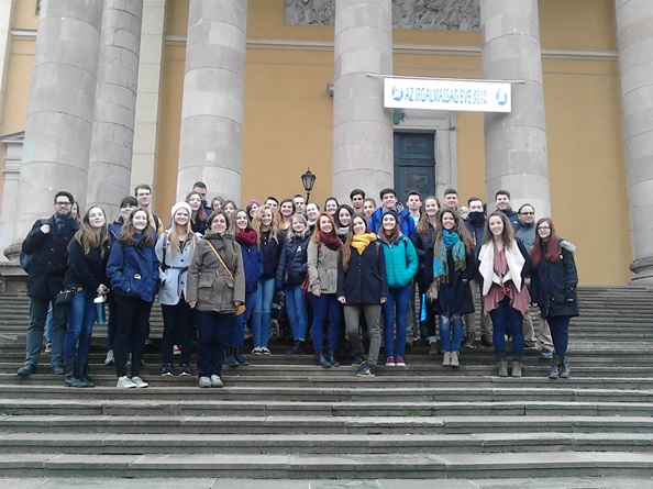 Purcellville - Debrecen student exchange
