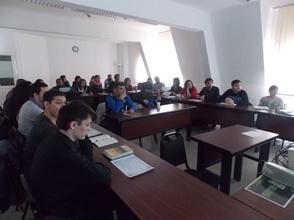 Fulbright Presentation at Central European University's Roma Graduate Preparation Program (RGPP)