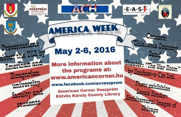 America Week Veszprém 2016
