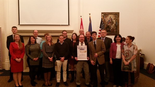 Fulbright Hungary Commemorates 1956 Revolution at Chicago Event