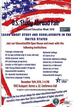 US Study Abroad Fair