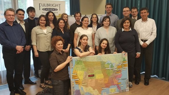 Hungarian Fulbright orientation AY 2017-2018