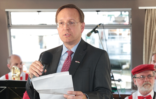 David Kostelancik, Chargé d'affaires, US Embassy
