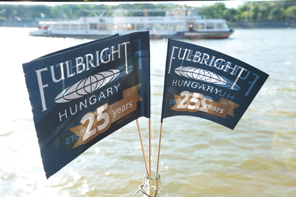 Fulbright Hungary Celebrates 25th Anniversary with a Danube Cruise