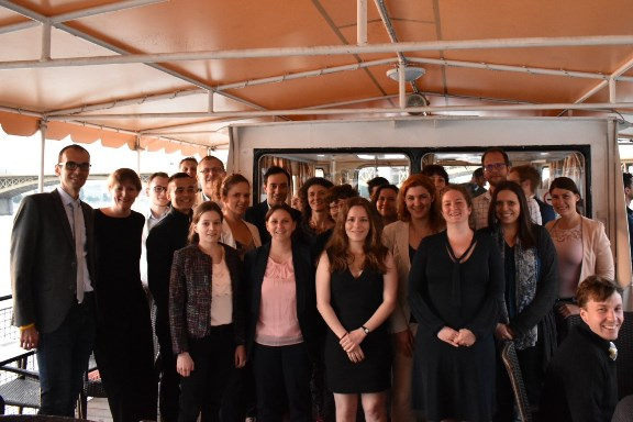 Twenty two Hungarian Fulbrighters on their way to the US AY 2018-19
