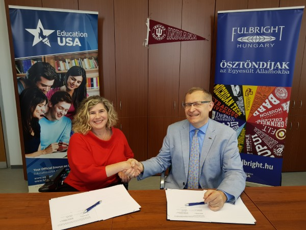 Fulbright Hungary and Indiana University Maurer Law School Sign Agreement